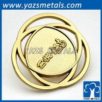 metall logo lapel pin