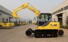used daewoo solar excavator
