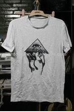 stylish cheap 100% cotton men's t shirts