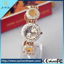 2014 Fashion Rhinestone Ladies Jeweled Watch