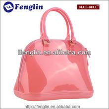 2014 brand designer pvc jelly tote bag candy handbag
