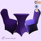 high quality spandex chair covers and table cloth