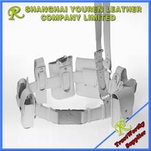 Professional genuine leather police duty belt set