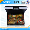 15 inch flip down bus dvd player 24v with wireless game