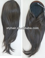 charming synthetic hair attachment headband extension fall straight hair for lady and girl