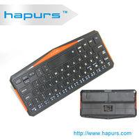 Hapurs High quality MINI Wireless bluetooth 3.0 keyboard case for Apple iphone 4 4s 5 5s ipad 2 3 4 white /black