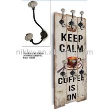 Vintage style wall hook&Decorative coat hook&Big item for decorative wooden wall shelf