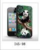Cute animal panda print phone case for noikia lumia 520