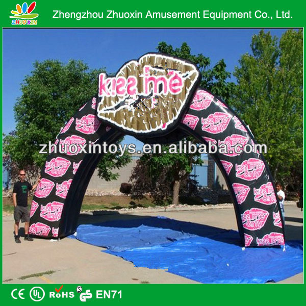 2014 pretty wedding inflatable arch /inflatable customered arch / events inflatable arch for sale
