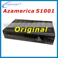 Satellite receiver azamerica s1001 hd iks sks nagra 3 with one dish for south america