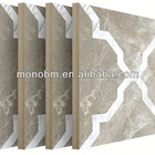 New Arrival cultured marble tub surrounds for home decoration compound marble tile