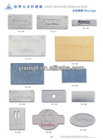 christmas ornaments custom logo zinc alloy die-cast engraved large blank metal spoon jewelry metal logo tag