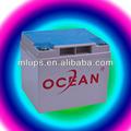 Océan, 2v 1000ah batterie au plomb des exemples de produits manufacturés