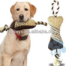 Shenzhen bone rope plush pet toy for dog