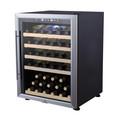 Utilizan barricas de vino la venta de gran capacidad con luz led y completo de la puerta de vidrio jf-54ts
