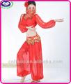 En la acción Bloomers linterna de vientre del diseño vestido de la danza india trajes de danza