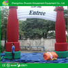 beautiful outdoor decorative inflatable garden arch with bench