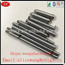 Customized stainless steel/aluminum/brass car door lock pins,bucket pin,aluminum pin in Dongguan,ISO9001