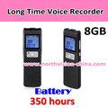 Vox digital gravador de voz, 350 horas super longo tempo de, mp3 função