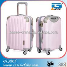 Hot-selling abs+pc travel 3pcs luggage set