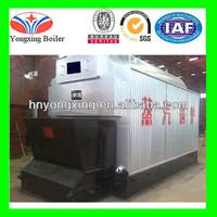 DZL Automatic Horizontal FTB Steam Boiler Oil/Gas Fired Steam Boiler