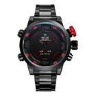 Weide Mens Red Theme Black Dial Dual Time Display Waterproof LED Watch,Wrist Watch,men watch 2014