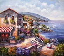 handmade oil painting yiwu company