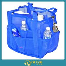 plastic funky beach bags/beach tote bag