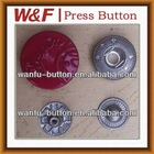 2014 High Quality Painted Metal Snap Button For Elegant Outerwear / Overcoat / Garment