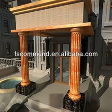 articial marble outdoor stone pillar