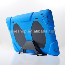shockproof case For ipad 4 with Belt Clip+screen protector