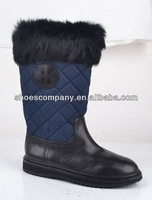 Fashion snow half boots,a warm shoes with fur linging