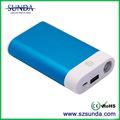 2014 sunda novo 6600 mah portátil bateria do telefone móvel carregador de aplicação