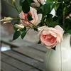 household decorations of chinese rose flower for artificial flower bunch