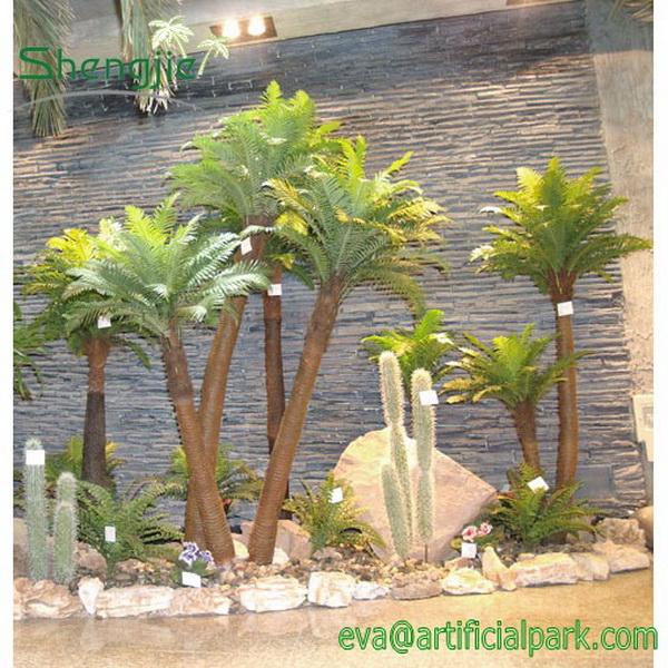 Petit artificielle cocotier norme palm arbre faux arbre for Arbre exotique exterieur