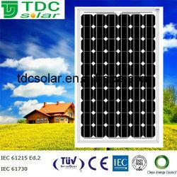 solar panels 250 watt with dark blue