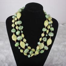 2014 New Fashion Plastic Necklacs Jewelry