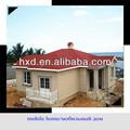 heilongjiang prefabricadas de bajo precio de las casas móviles villa