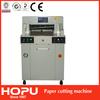 HOPU heavy duty trim hydraulic guillotine paper cutting