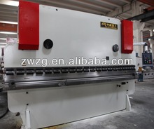 ZHONGWEI WC67Y hydraulic press brake 3000 with TUV,CE,ISO certification