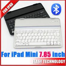 Aluminum 360 Swivel Rotating Stand Case Cover Bluetooth Keyboard For iPad Mini bluetooth mini keyboard