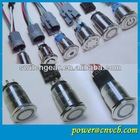 porn Stainless steel Momentary 1no1nc metal 12v red led push button switch elevator parts push button