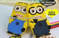 Despicable Me 2 Minions 3d silicone soft Case Cover For Samsung Galaxy Core I8260 I8262