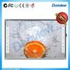 Anti-glare smooth surface wirting board