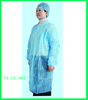 COLORFUL NONWOVEN DISPOSABLE LAB COAT