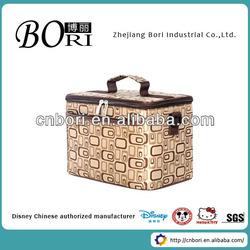 cheap Fashion nylon travel cosmetic bags women flower reusable shopping bag folding nylon bag