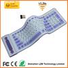 2.4G Flexible wireless Keyboard, wireless silicone keyboard, silicone wireless keyboard
