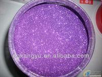 ceramic easter items easter egg decoration glitter powder