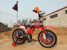 4 wheel kids motocross bikes with 2 side wheels kids bicycles