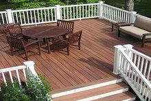 outdoor wpc decking veranda